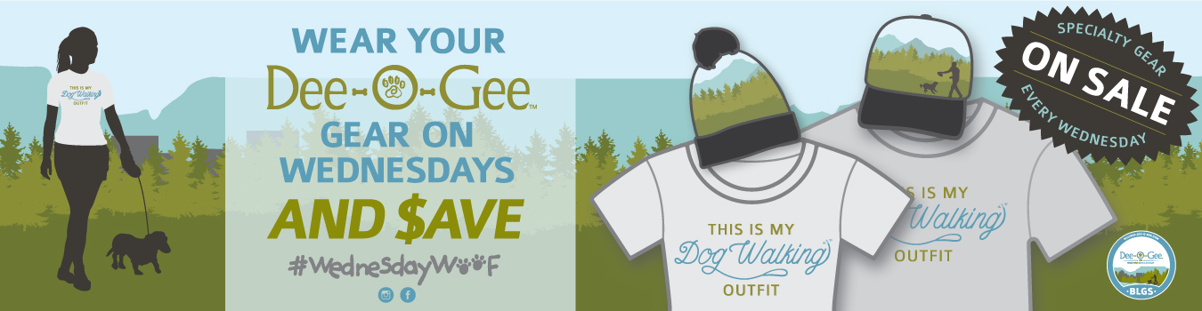 #WednesdayWOOF | monthly sales at Dee-O-Gee BLGS