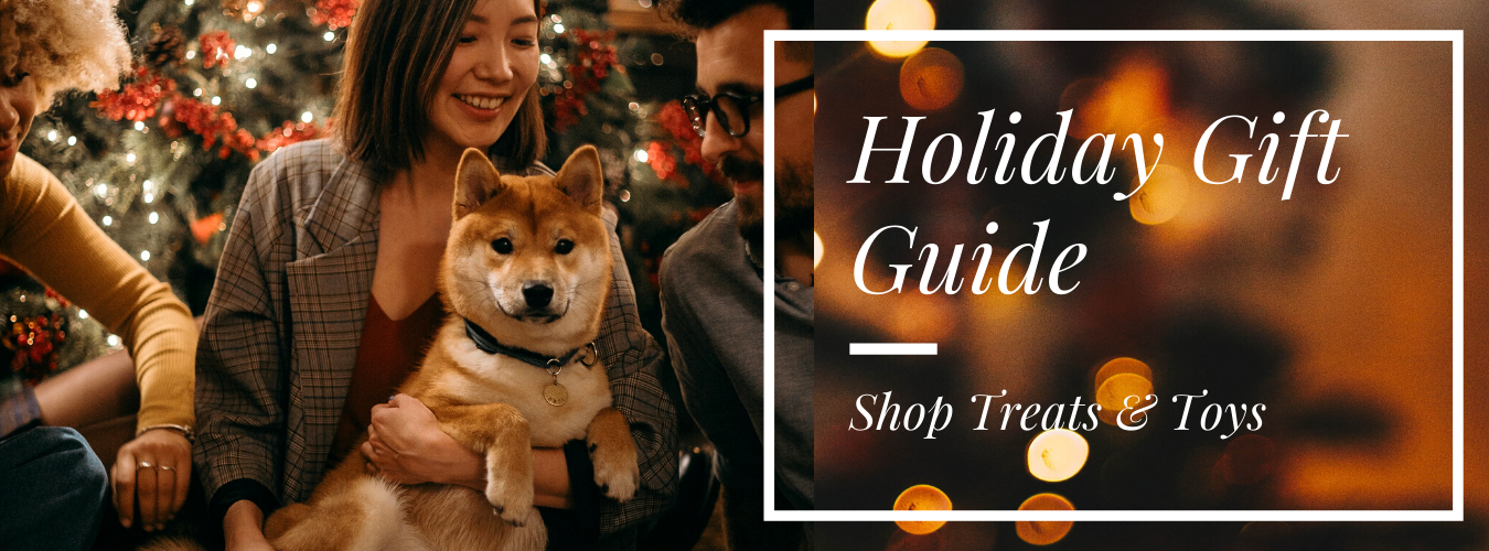 Shop Holiday toys and treats for dogs and cats