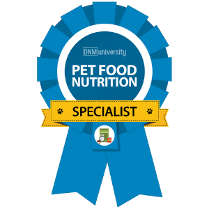 Pet Food Nutrition Specialist Certification
