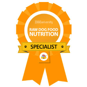 Raw Dog Food Nutrition Specialist Certification