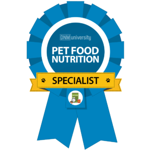 DNM University - Pet Food Nutrition Specialist