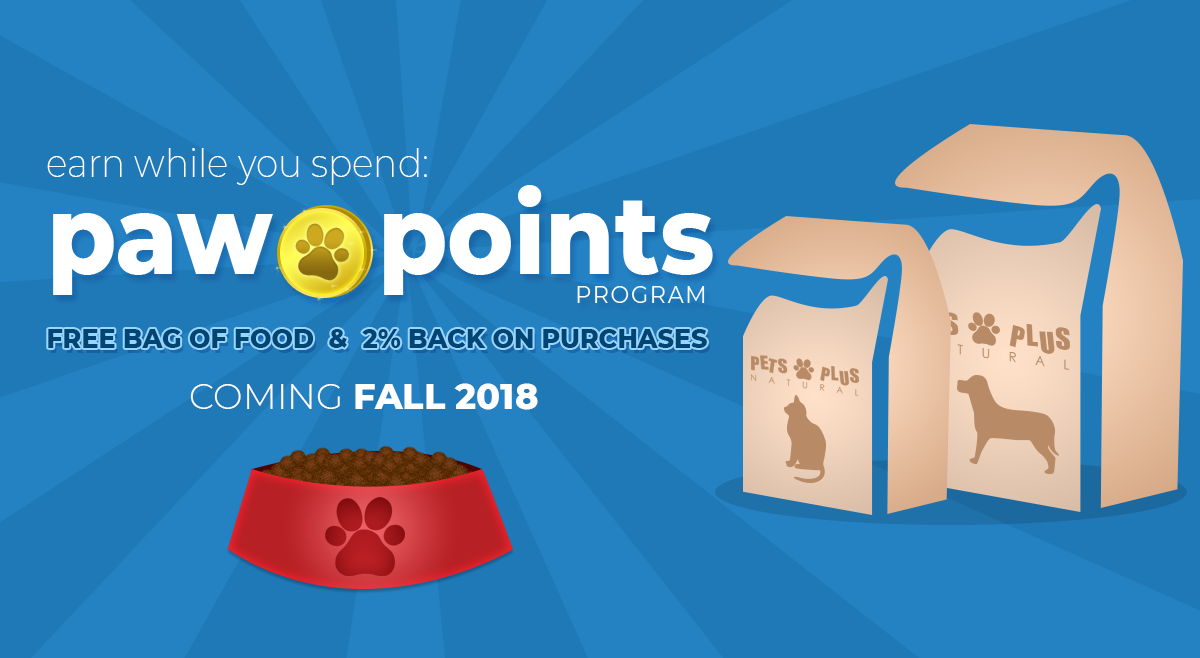 Earn Paw Points When You Shop!