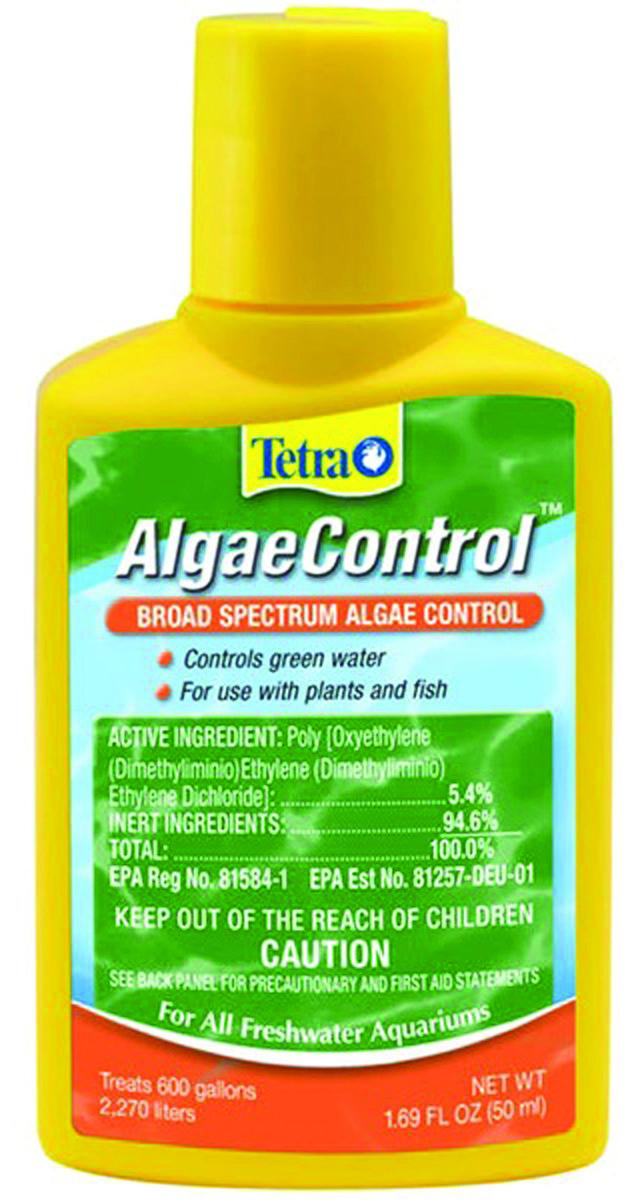 Tetra AlgaeControl Broad Spectrum Algae Control Water Treatment, 1.69-oz bottle