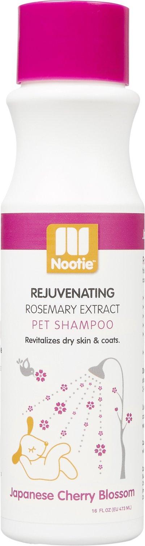 Nootie Japanese Cherry Blossom Rejuvenating Formula Dog Shampoo, 16-oz bottle