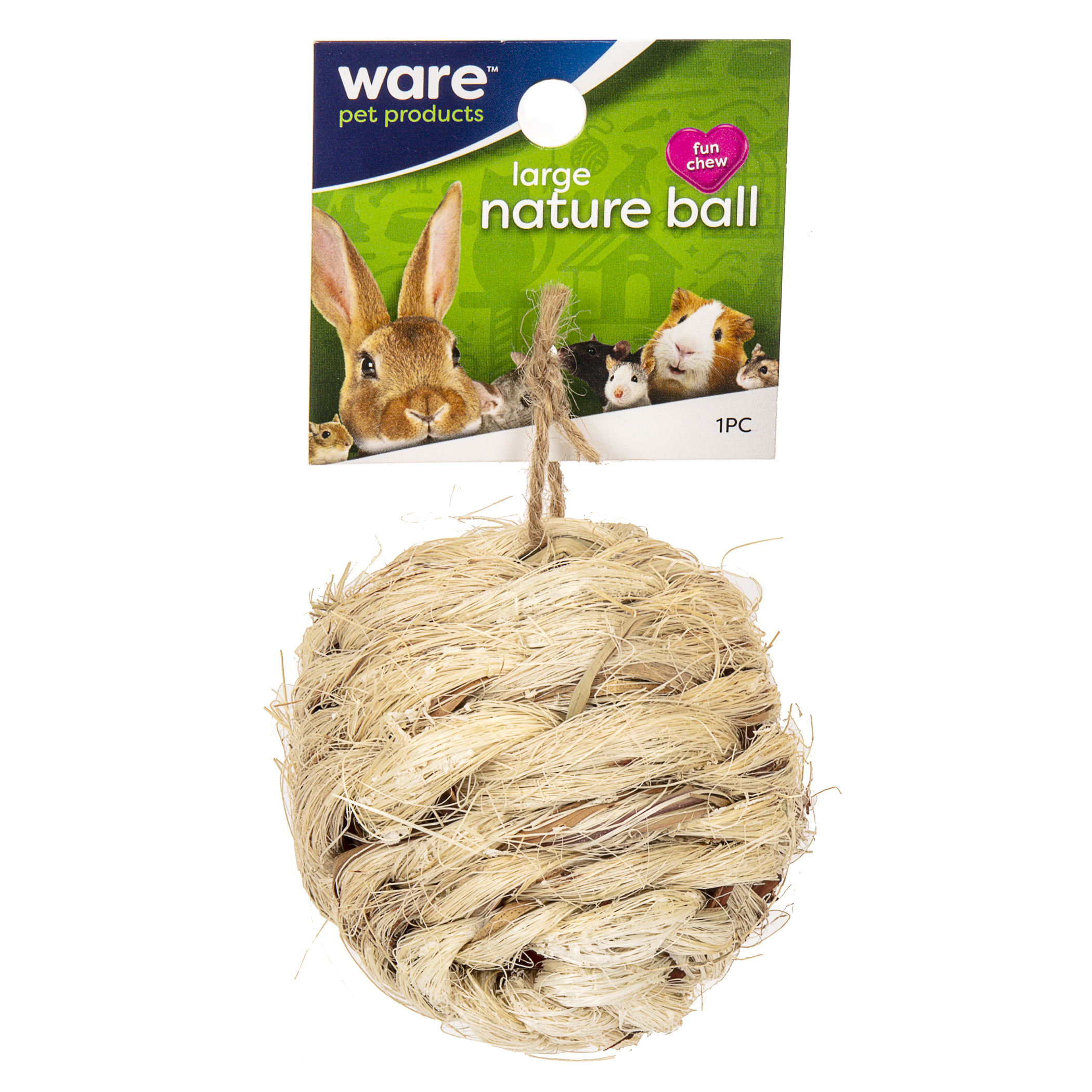 Ware Nature Ball, Small Pet Toy