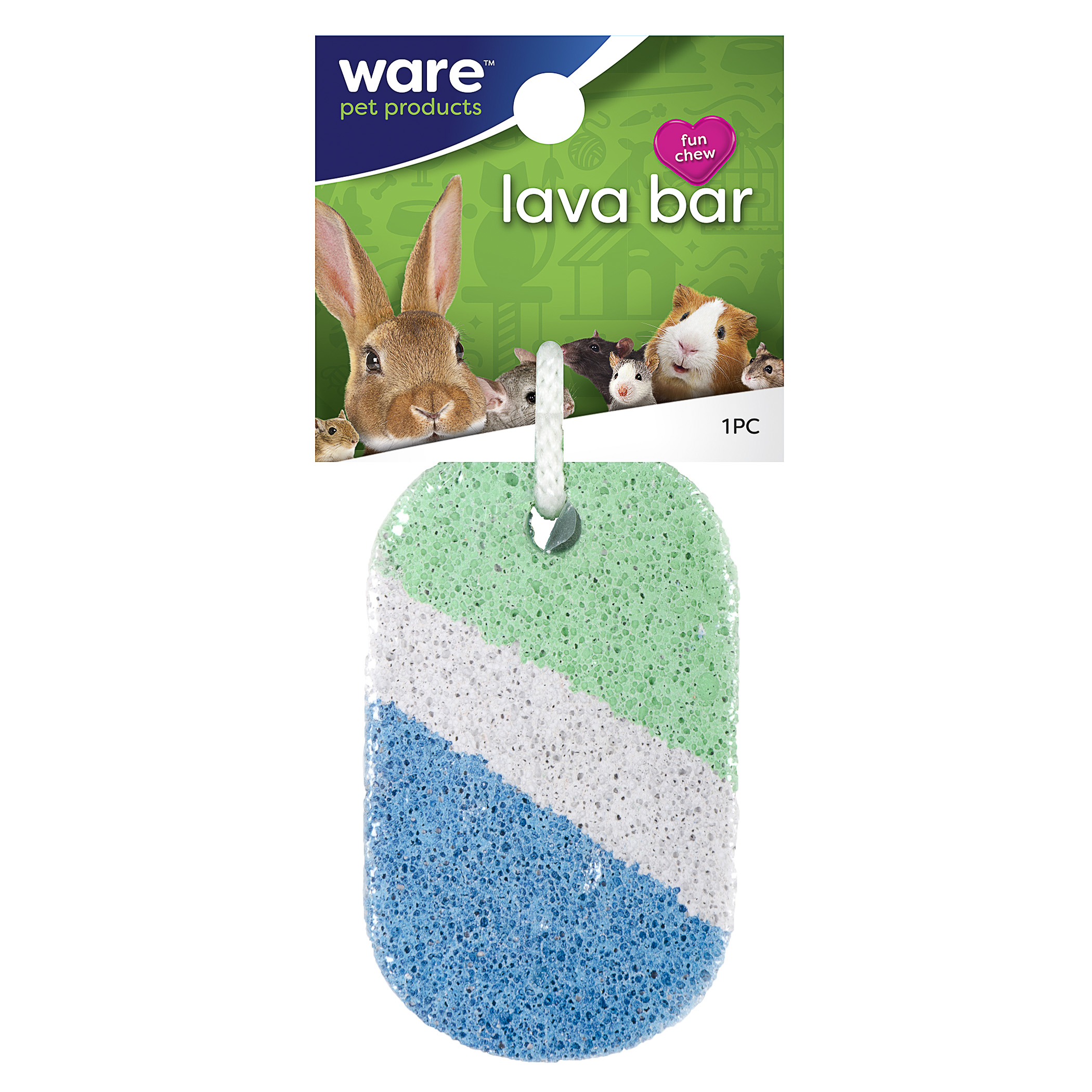 Ware Lava Bar, Tooth Trimming Small Pet Supplement