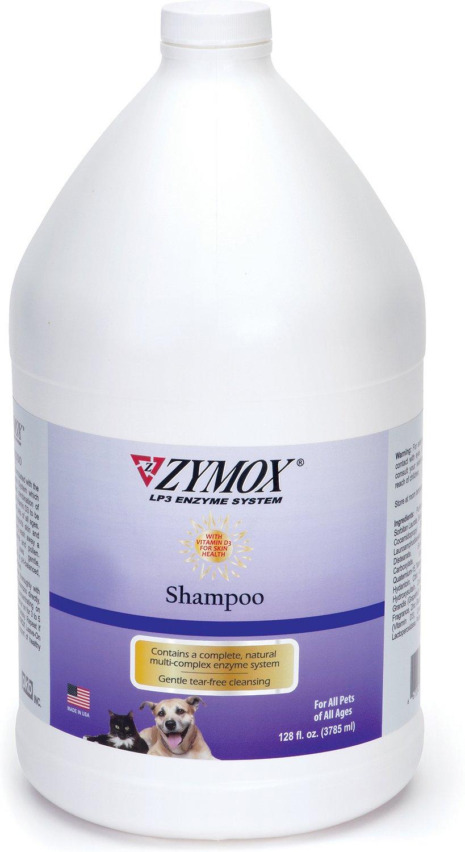 Zymox Enzymatic Dog & Cat Shampoo, 1-gal bottle