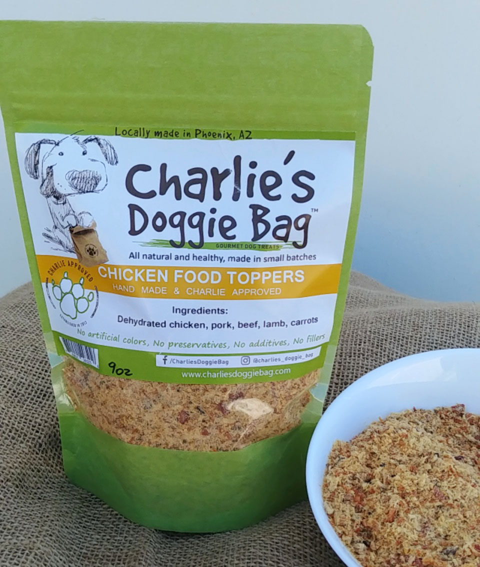 Charlie's Doggie Bag Chicken Food Toppers