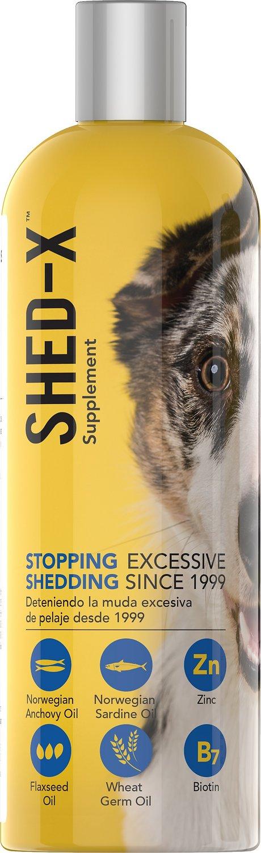 Shed-X Dermaplex Shed Control Nutritional Supplement for Dogs, 32-oz bottle