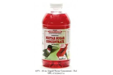 Homestead Hummingbird Nectar Sugar Concentrate, Red, 32-oz