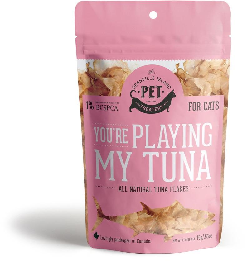 Granville Island Pet You're Playing my Tuna Cat Treats