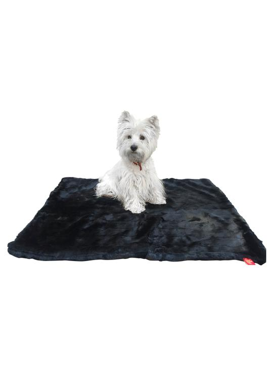 The Dog Squad Plush Magic Mat, Black Mink, Small