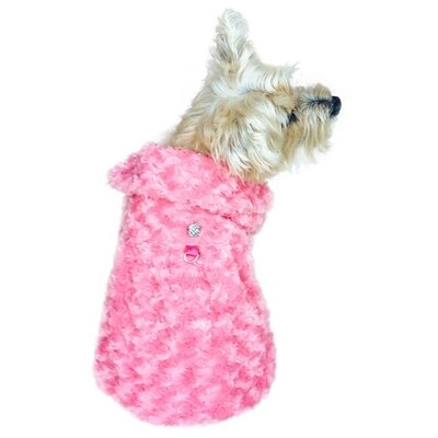 The Dog Squad Shop Til You Drop Dog Coat, Coral, Small