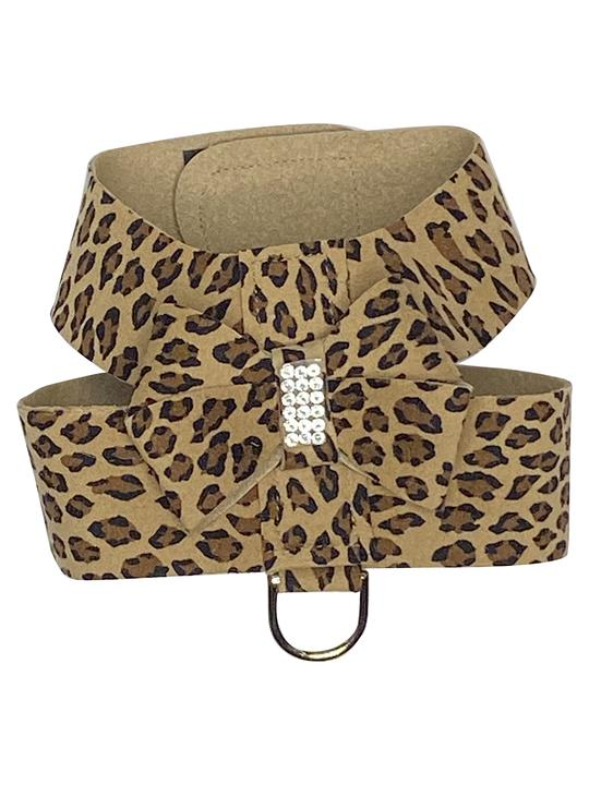 The Dog Squad Hollywood Bow Dog Harness, Cheetah, Medium