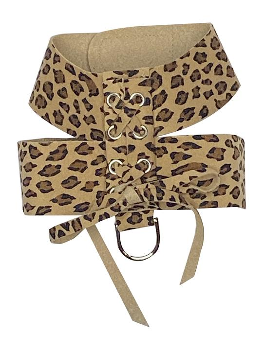 The Dog Squad Parisian Dog Harness, Cheetah, XX-Small