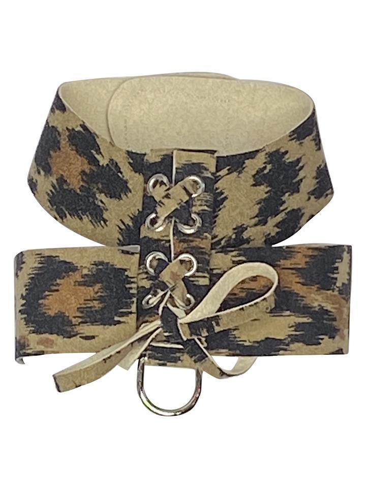 The Dog Squad Parisian Dog Harness, Leopard, XX-Small