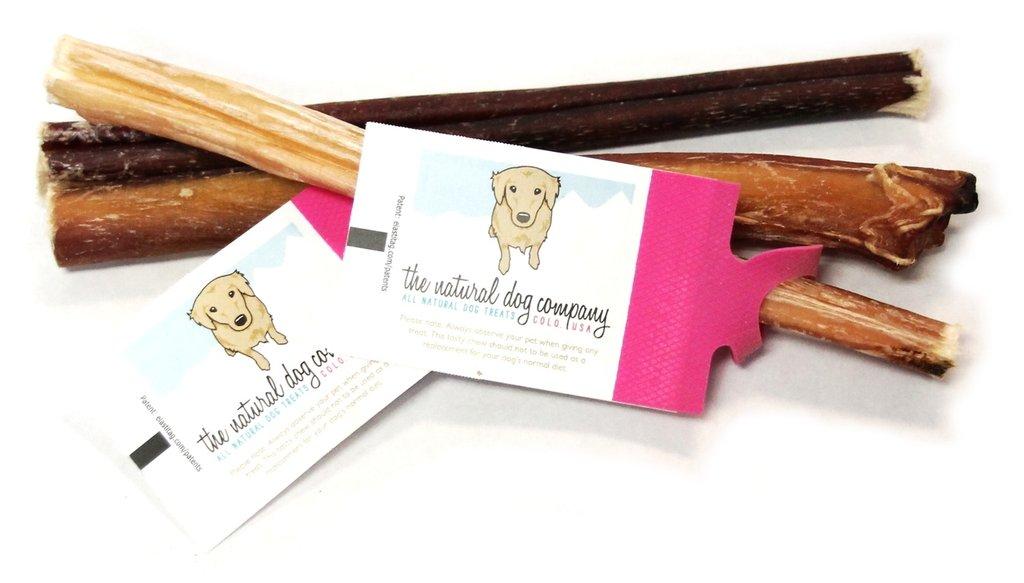 "The Natural Dog Company 6"" Skinny Bully Stick Odor Free Dog Treats, 1 Count"