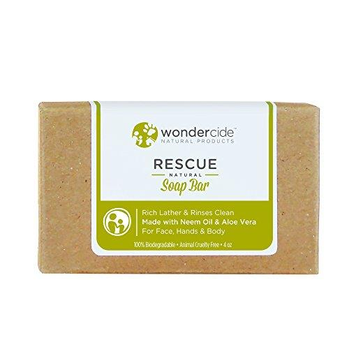 Wondercide 'HYPOALLERGENIC' Natural Soap Bar with Neem Oil & Aloe Vera for Dogs & Cats