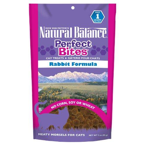 Natural Balance Perfect Bites Rabbit Formula Cat Treats, 3-oz bag