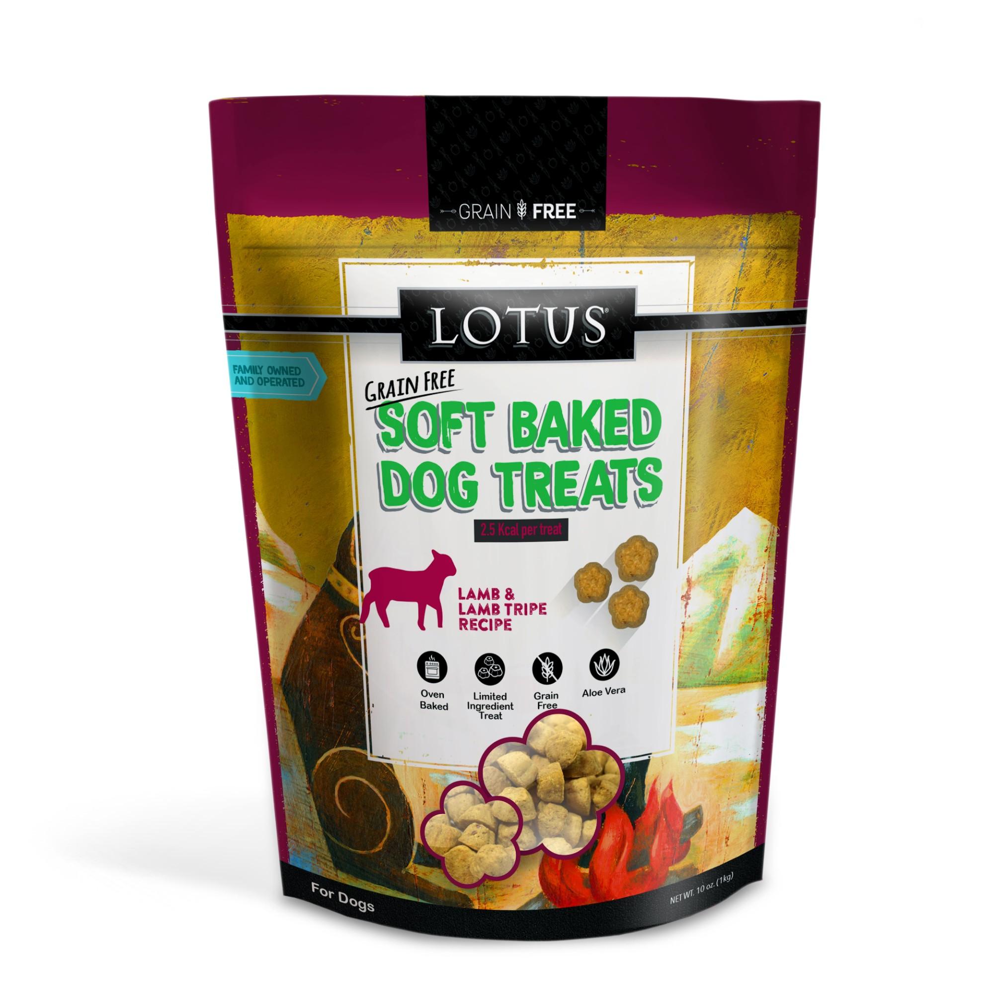 Lotus Soft Baked Lamb Dog Treat