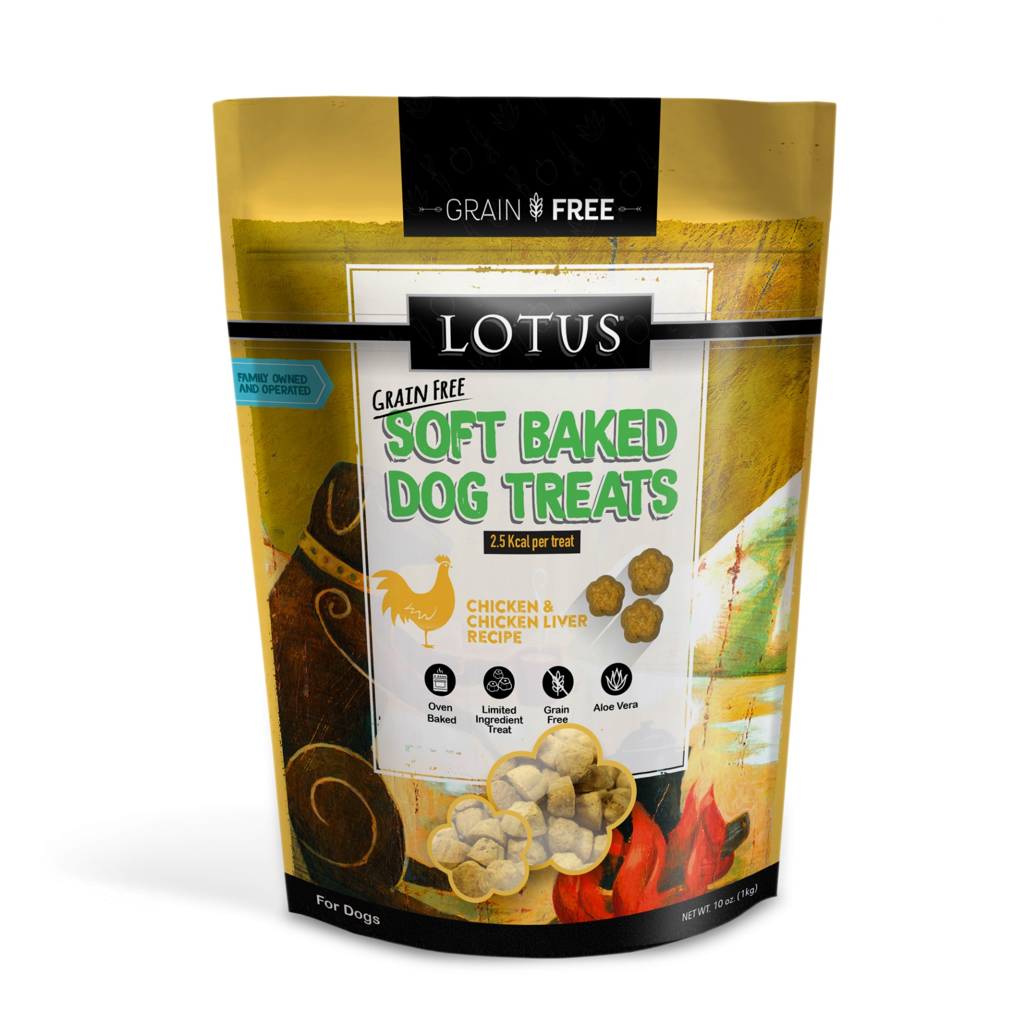 Lotus Soft Baked Chicken Dog Treat