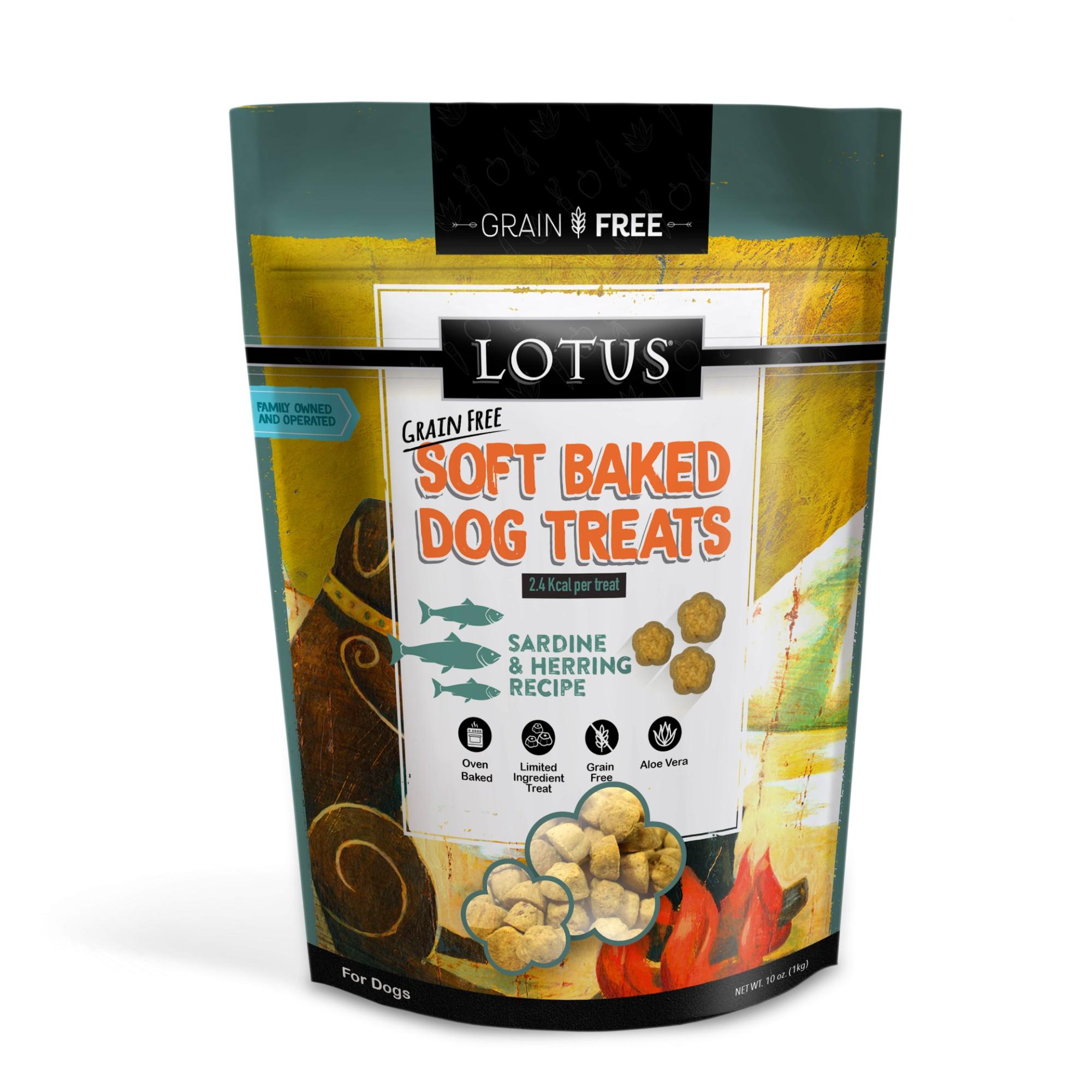 Lotus Soft Baked Sardine & Herring Dog Treat