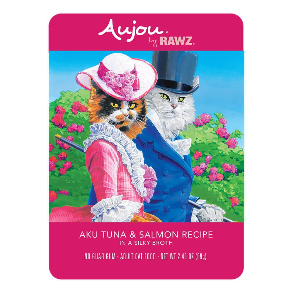 Aujou Cat Aku Tuna & Salmon Wet Cat Food