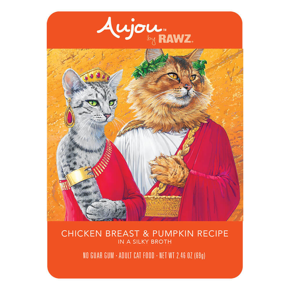 Aujou Cat Chicken Breast & Pumpkin Wet Cat Food