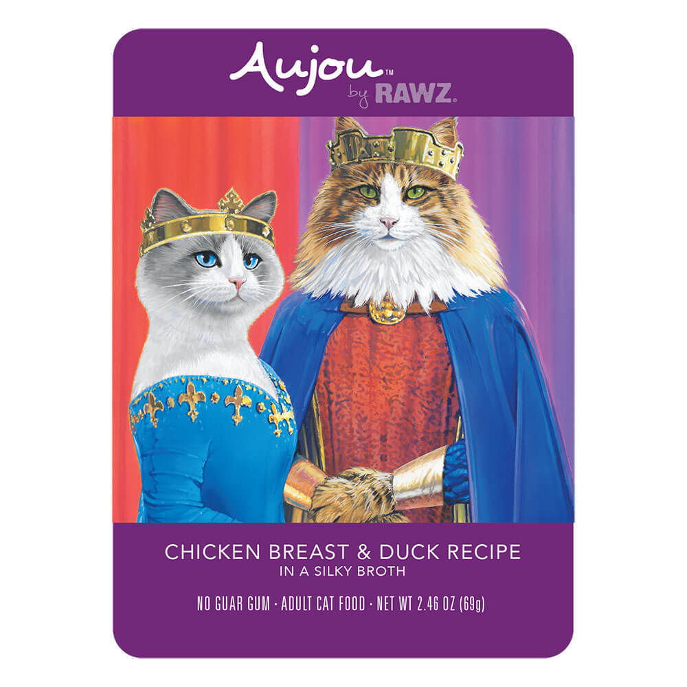 Aujou Cat Chicken Breast & Duck Wet Cat Food