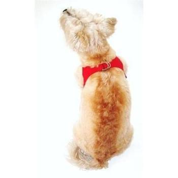The Dog Squad Starlet Dog Harness, Red, X-Small