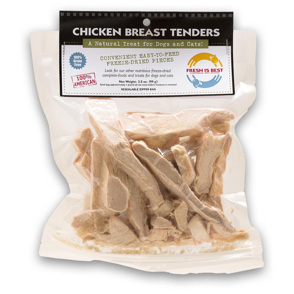 Fresh Is Best Chicken Breast Tenders Dog & Cat Treats