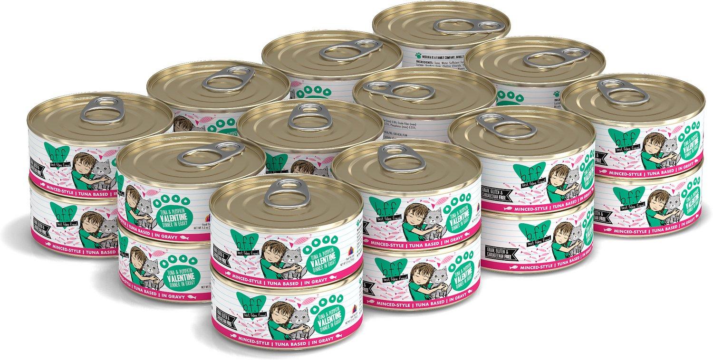 BFF Originals Valentine Tuna & Pumpkin Dinner in Gravy Grain-Free Wet Cat Food, 5.5-oz, case of 24