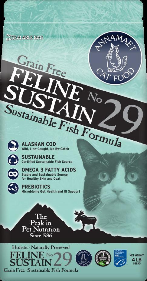 Annamaet Gluten Free Sustain Cat Food