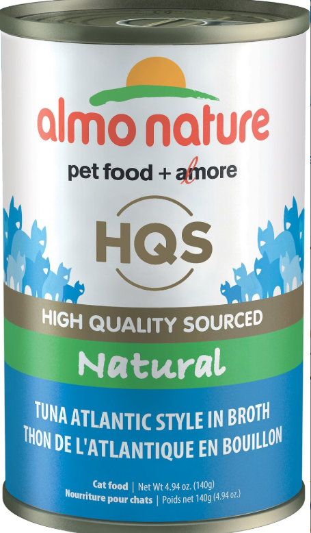 Almo Nature Natural Tuna in Broth Atlantic Style Grain-Free Canned Cat Food