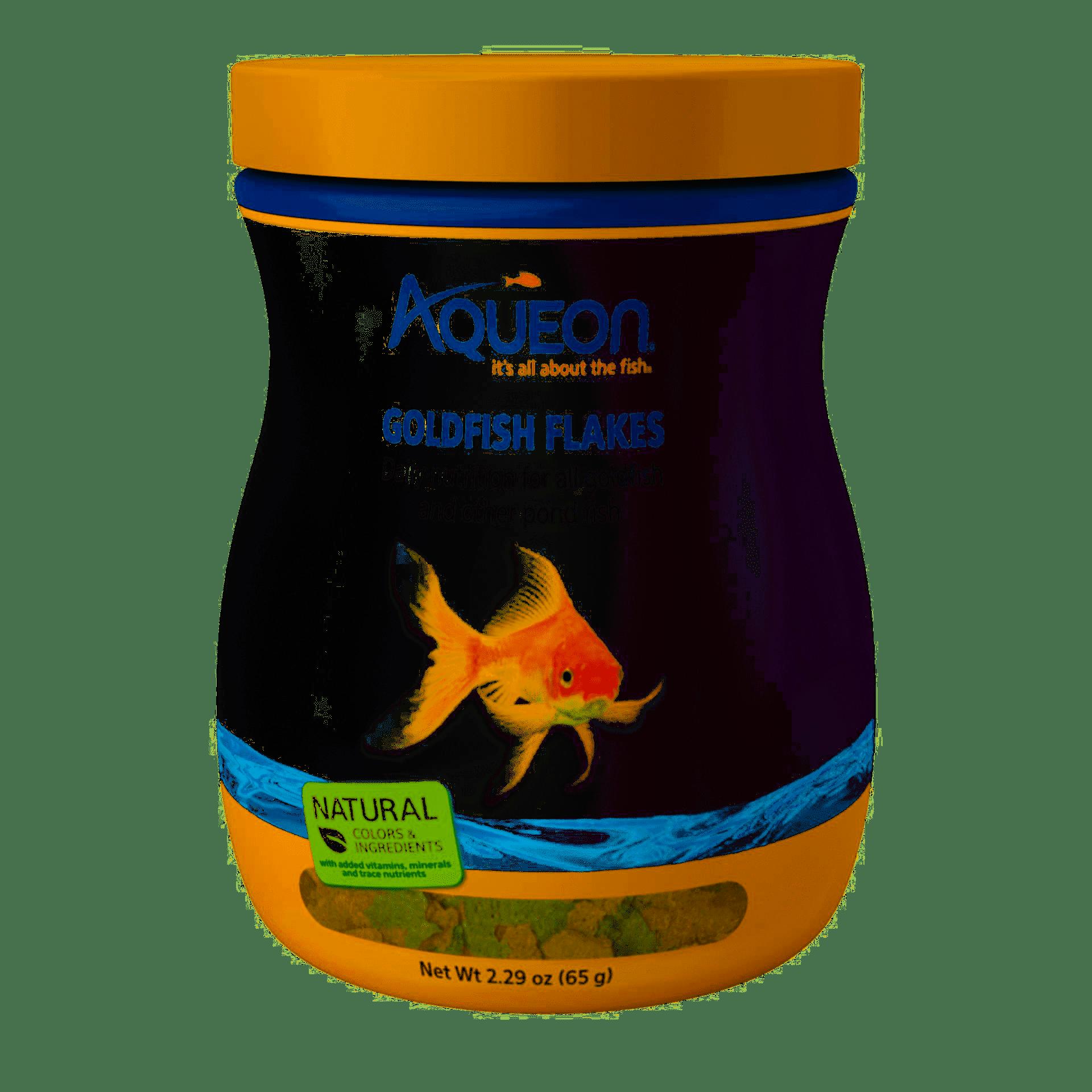 Aqueon Goldfish Flakes, 2.29-oz