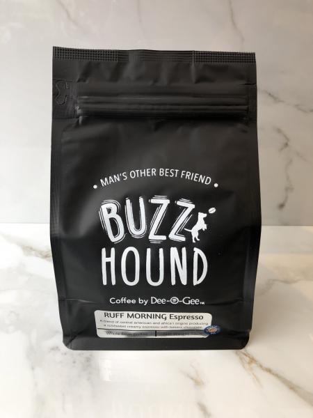 Buzz Hound Ruff Morning Espresso Blend Coffee by Dee-O-Gee