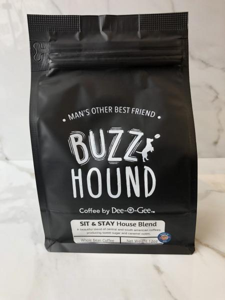 Buzz Hound Sit & Stay House Blend Coffee by Dee-O-Gee