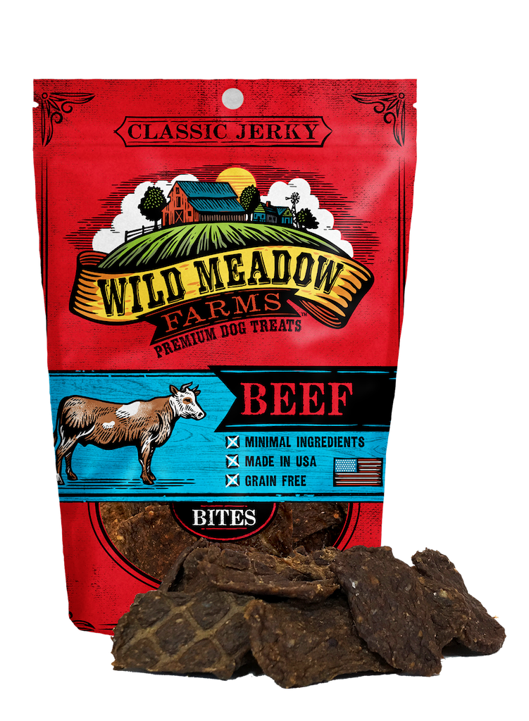 Wild Meadow Farms Classic Jerky Bites Beef, 4-oz