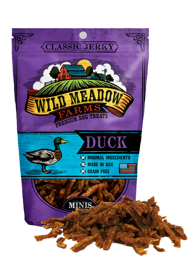 Wild Meadow Farms Classic Jerky Minis Duck, 4-oz