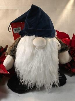 Mooch's Munchies Christmas Gnome Dog Toy, 12-in Size: 12-in