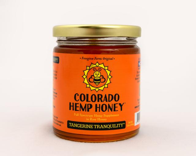 Colorado Honey Tangerine Tranquility Full Spectrum Extract Jar, 12-oz (1000-mg)