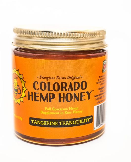 Colorado Honey Tangerine Tranquility Full Spectrum Extract Jar, 6-oz (500-mg)