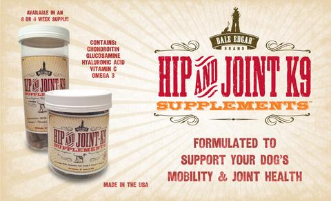 Dale Edgar Hip & Joint K9 Wafers Dog Supplement, 56-count