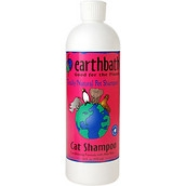 Earthbath 2-in-1 Light Wild Cherry Conditioning Cat Shampoo, 16-oz bottle