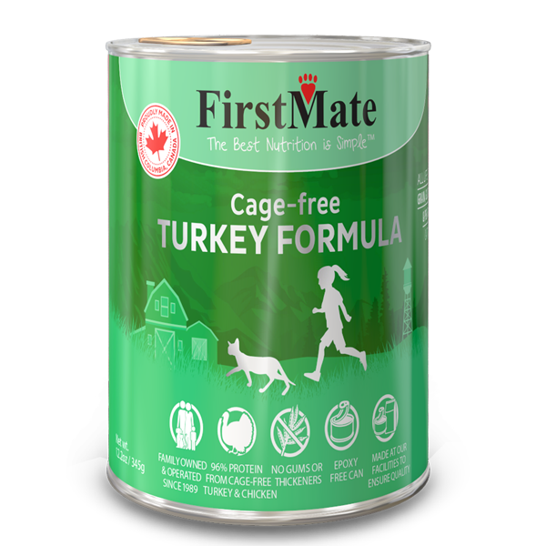 FirstMate Turkey Formula Limited Ingredient Grain-Free Canned Cat Food