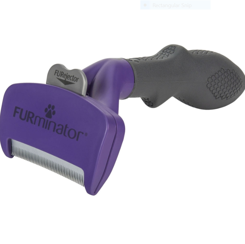 Furminator Short Hair Deshedding Tool Cat - Large
