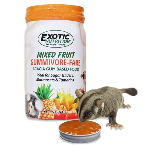 Exotic Nutrition Mixed Fruit Gumivore-Fare Pet Food, 8-oz