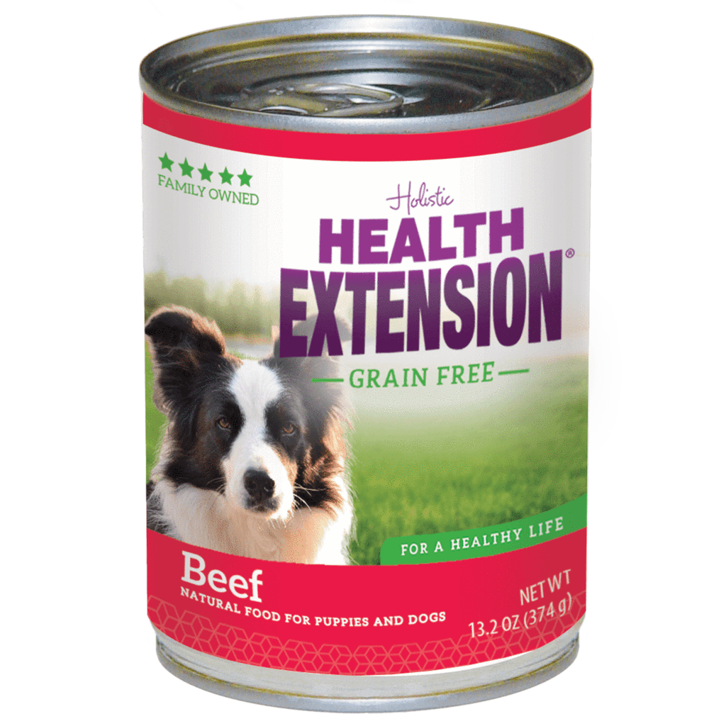 Health Extension Grain-Free Beef Entree Canned Dog Food