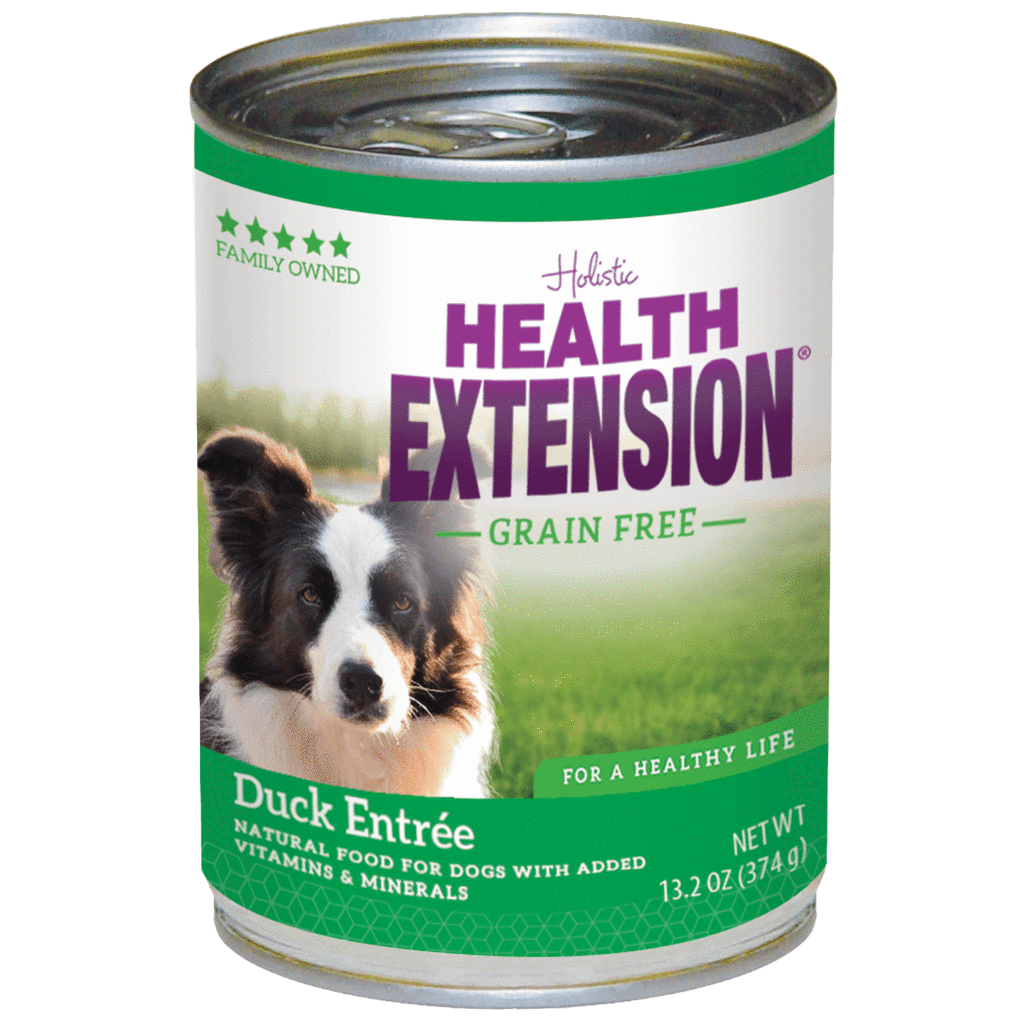 Health Extension Grain-Free Duck Entree Canned Dog Food