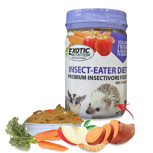 Exotic Nutrition Insect-Eater Diet Insectivores Food, 12-oz